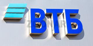 Emblem of the Russian VTB bank