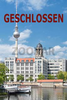 Ausgangssperre in Berlin