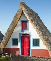 Famous traditional rural houses Madeira