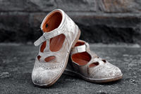 dirty children's shoes