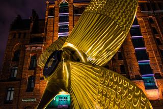 Die Schraube vor dem Maritimen Museum Hamburg