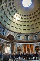 Pantheon interior in Rome