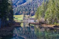 Hintersee near Ramsau - Berchtesgaden