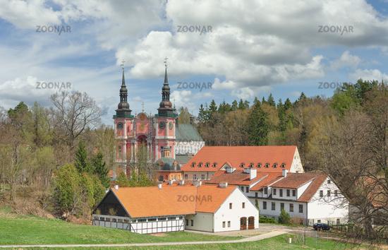 famous Swieta Lipka Church,Masuria,Poland