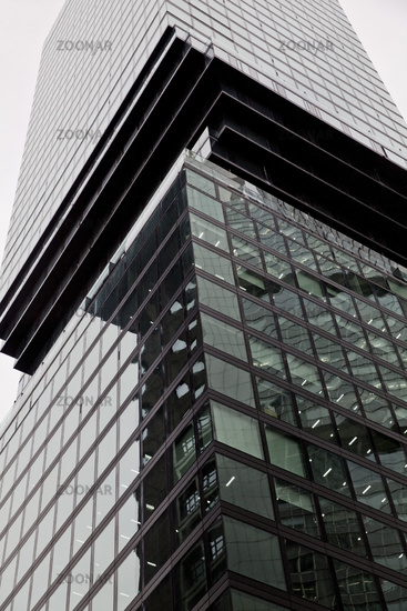Omni tower in the financial district, architect Bjarke Ingels, Frankfurt am Main, Germany, Europe