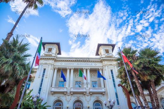 Sanremo Casino in Italy, Liguria Region