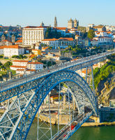 Old Town Porto bridge Portugal
