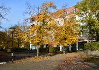 Autumn in the Neighborhood of Schmargendorf, Wilmersdorf, Berlin