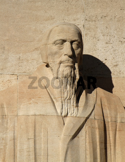 G. Farel, reformation wall, Geneva, Switzerland.