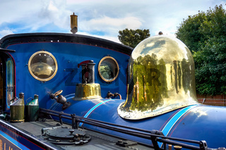 Bluebell Steam Engine in East Grinstead