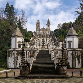 the Sanctuary Bom Jesus do Monte in northern Portugal