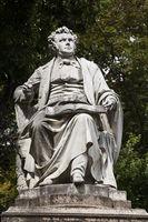 Statue of Composer Franz Schubert, Vienna