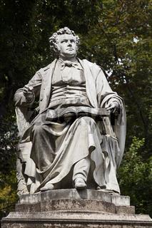 Statue von Komponist Franz Schubert, Wien