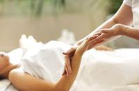 Professional massage of hands