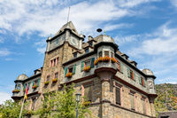 Town hall in Oberwesel, Rhineland-Palatinate