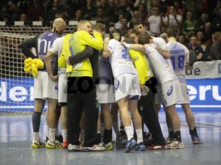 DKB Handball-Bundesliga 2013-2014 29.Spieltag, SC Magdeburg - HSV Handball in Magdeburg