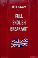 Full English Breakfast, Cowley Road, Oxford, England.