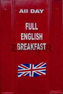 Full English Breakfast, Cowley Road, Oxford, England.
