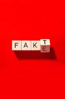 Fact or fake, symbol image, fake news, alternative facts, Germany, Europe