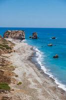 Petra tou Romiou, Aphrodite's birthplace in Paphos, Cyprus