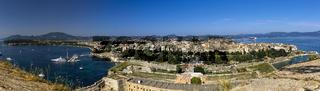 Kerkira, Korfu Panorama