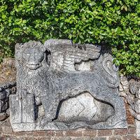 Saint Mark's Lion Trsat Castle Rijeka
