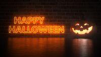 Jack O'Lantern Happy Halloween