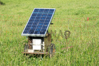 Electric Pastue Fence with Photovoltaic