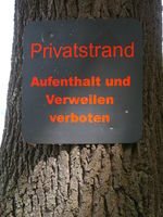 Privatstrand