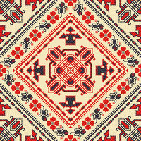 Romanian traditional pattern 122