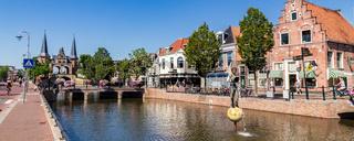 Streetscene Sneek, Netherlands