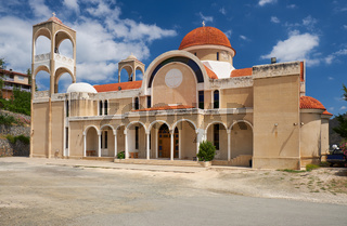 Agios Panteleimonas Churchin the Kakopetria village. Nicosia District. Cyprus
