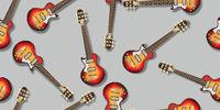 Electric guitar pattern