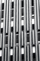 Details of modern architecture in monochrome
