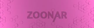 Abstract modern pink honeycomb background