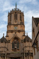 Tom Tower, Christ Church College, Oxford University, England