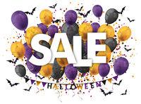 Halloween Balloons Sale Bats