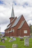 stave church  Hegge in Oppland