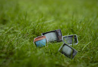 Tv in the Grass