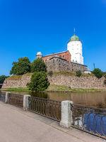 View on Vyborg Castle