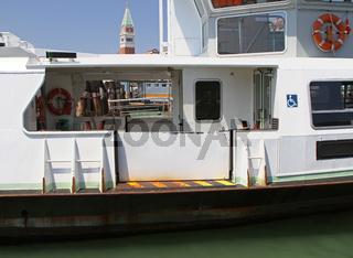 Water bus Venice