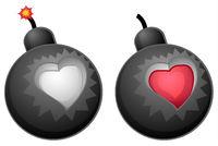 Love Bomb Design Element