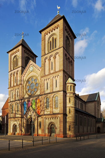 Liebfrauen church, Gelsenkirchen, Ruhr area, North Rhine-Westphalia, Germany, Europe