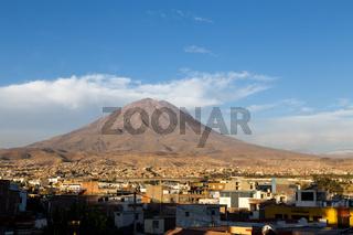 Yanahuara Viewpoint in Arequipa, Peru
