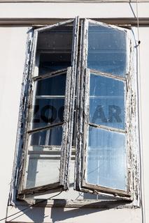 Alte Sprossenfenster
