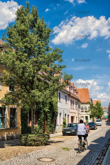 Naumburg, Germany - June 18, 2019 - idyll in the old town