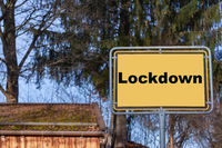 Town sign Lockdown