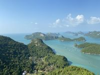 Ang Thong National Marine Park in Thailand