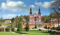 the famous Swieta Lipka Church in Masuria,Poland