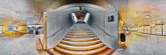 Illertissen Gleis 3 underground